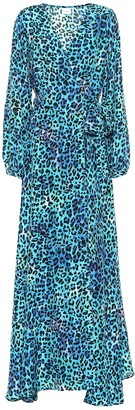Anna Kosturova Exclusive to Mytheresa Leopard-print silk maxi dress