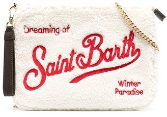 Mc2 Saint Barth Kids Logo Embroidery Bag