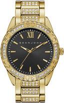 Sean John Men's Bond Gold Alloy Bracelet Watch 48mm