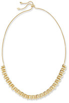 Kendra Scott Harper Staggered Collar Necklace, Golden Metallic