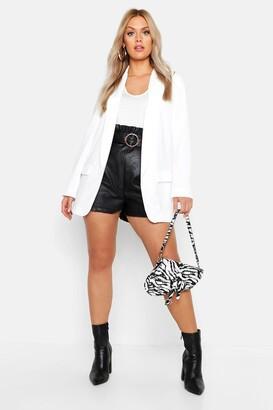 boohoo Plus Tailored Blazer