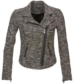 Ikks VERMILLION women's Jacket in Grey