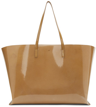 Jil Sander Beige Large Shopper Tote