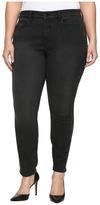 NYDJ Plus Size Plus Size Alina Legging Jeans with Glitter Tuxedo Stripe in Bristol