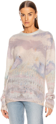 Amiri Tie Dye Sweater in Multi Color | FWRD