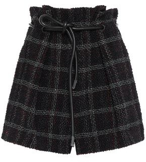 3.1 Phillip Lim Checked Tweed Shorts