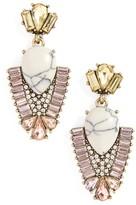 Sole Society Women's Crystal & Stone Drop Earrings