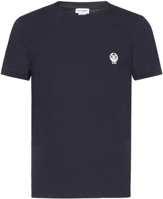 Dolce & Gabbana Logo Patch Crewneck T-Shirt