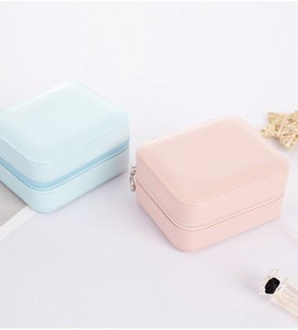 Goodnight Macaroon 'Lannie' Small Travel Jewelry Box (2 Colors)