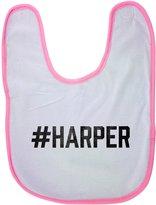 Fotomax baby bib with #HARPER