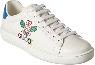 Gucci Ace Tennis Leather Sneaker