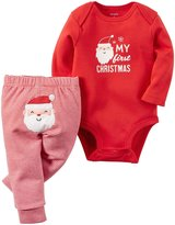 "Carter's Baby 2-Piece Bodysuit and Pant Set, ""My First Christmas"""