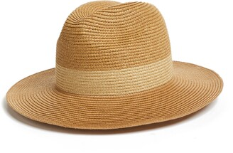 Halogen Packable Panama Hat