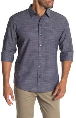 Zachary Prell Jablon Long Sleeve Print Shirt