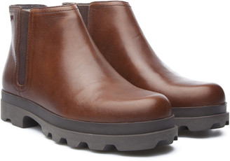 Camper Mil Leather Bootie