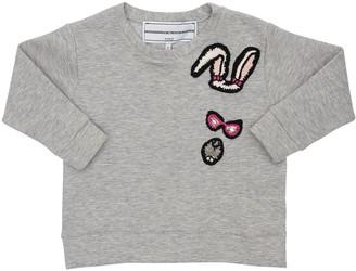 Michaela Buerger Cotton Sweatshirt W/ Knit Patch