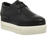 Ash Katia Lace Up Platform Shoes
