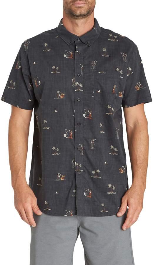 Billabong Sundays Mini Short Sleeve Woven Shirt