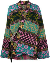 Etro Reversible patchwork jacket