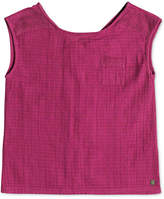 Roxy Sleeveless Cotton Top, Big Girls