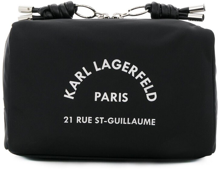 Karl Lagerfeld Paris Rue St Guillaume washbag