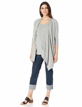 Maternal America Women's Wrap Maternity/Nursing Sweater