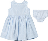 Gant Pale Blue Spot Dress with Knickers