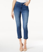 NYDJ Alina Tummy-Control Released-Hem Ankle Jeans