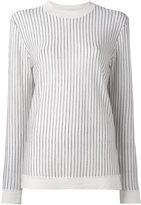 DKNY pinstripe jumper