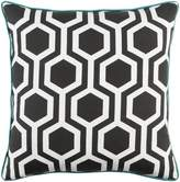 Apt2B Torrance Toss Pillow BLACK/TEAL