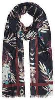 Reiss Murphy Floral Scarf