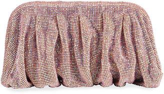 Benedetta Bruzziches Venus La Grande Clutch Bag in Pink Crystals
