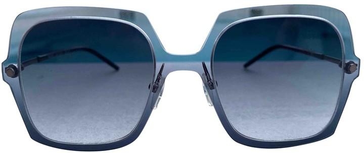 Marc Jacobs Green Metal Sunglasses