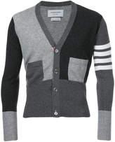 Thom Browne striped detail cardigan