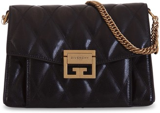Givenchy Small Gv3 Bag In Quilted Leather