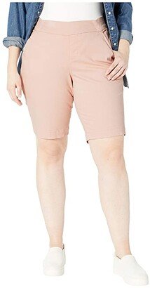 Jag Jeans Gracie Pull-On Bermuda Shorts (Conch Shell) Women's Shorts