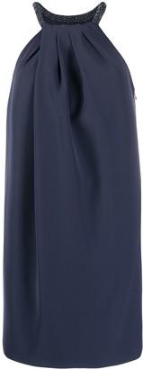 Emporio Armani Halterneck Shift Dress
