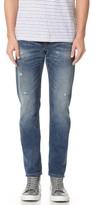 Club Monaco Distressed Slim Jeans