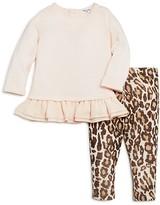 Splendid Girls' Ruffled Sweatshirt & Leggings Set - Baby