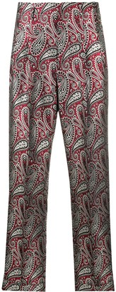 Golden Goose paisley print tailored trousers