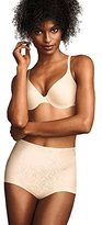 Flexees Maidenform Women's Shapewear Brief Firm Control, Blush, Small
