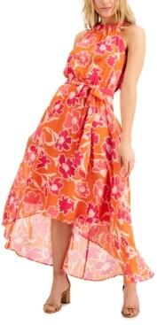 INC International Concepts Inc Floral-Print Midi Dress, Created for Macy's