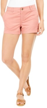 Style&Co. Style & Co Chino Shorts, Created for Macy's