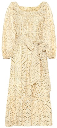 Lisa Marie Fernandez Laure eyelet cotton dress