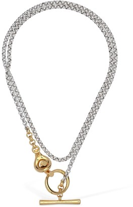 Charlotte Chesnais Halo Two Tone Chain Necklace