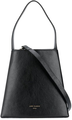 Low Classic Curve embossed logo tote