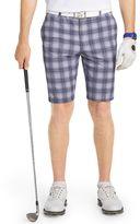 Izod Men's Classic-Fit Jameson Plaid Performance Golf Shorts