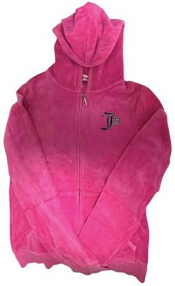 Juicy Couture Pink Velvet Jacket for Women