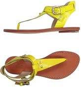 Belle by Sigerson Morrison Toe strap sandals