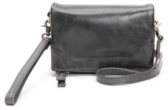 Frye Melissa Stadium Leather Convertible Crossbody Bag